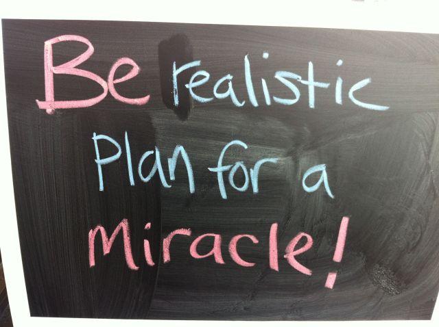Miracles happen!